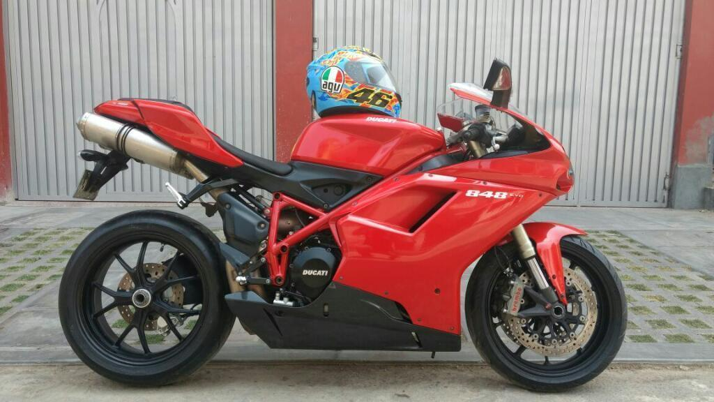 Ducati 848 Evo 2012 Nacional