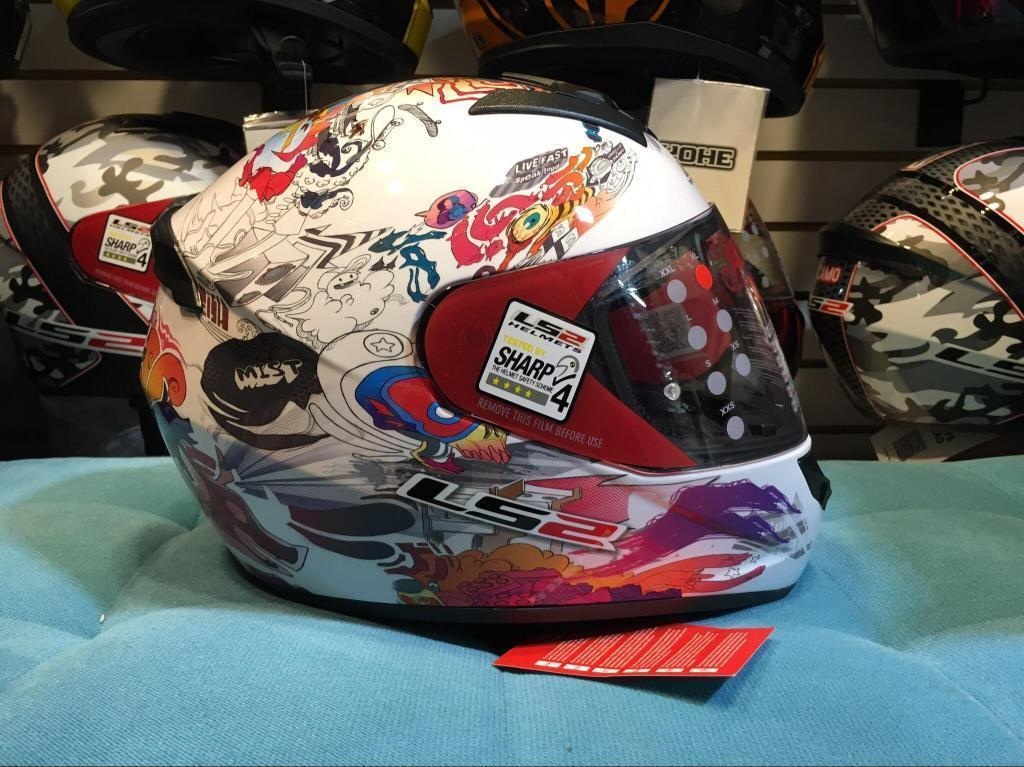 Casco Ls2 Modelo Comics