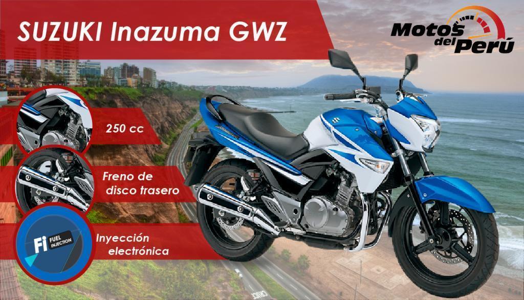 Pin oleh Guillermo Campos di Suzuki Inazuma GW250