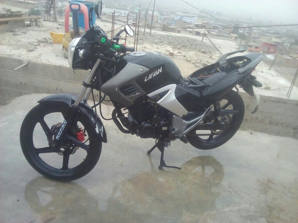 Ocasion Moto Lifan 2016 Motor200cc Soat