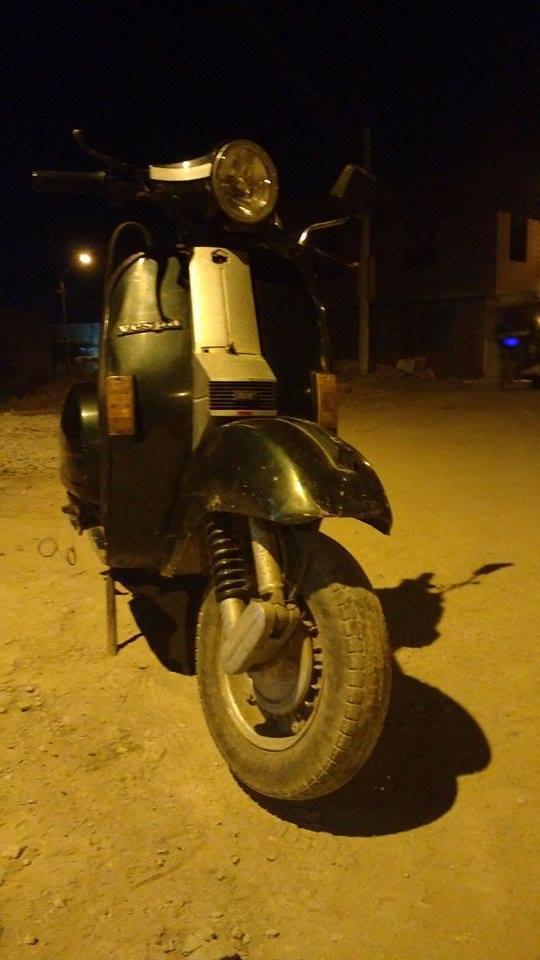 Moto Piaggio Vespa 97