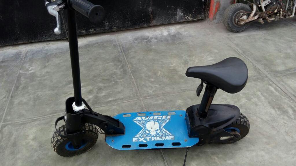 Vendo Scooter Unipersonal Electrica
