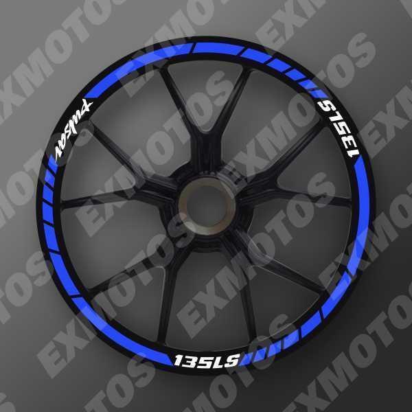 CRE1 Cintas Reflectivas para aros de motos Pulsar Yamaha Honda