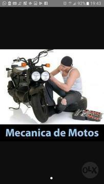 Se Necesita Mecanico de Moto