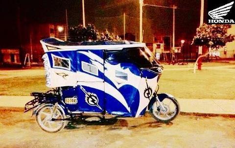 MOTOTAXI DEPORTIVA HONDA 150cc!!!.. Motocar, Motokar, Trimoto