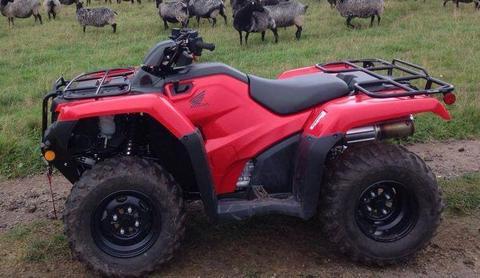 Vendo cuatrimoto Honda utilitaria TRX420