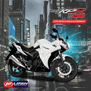 Grupo Socopur: Moto Lifan KPR 200