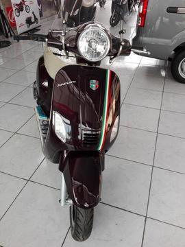 zongshen milano tipo vespa 150cc. modelo 2018