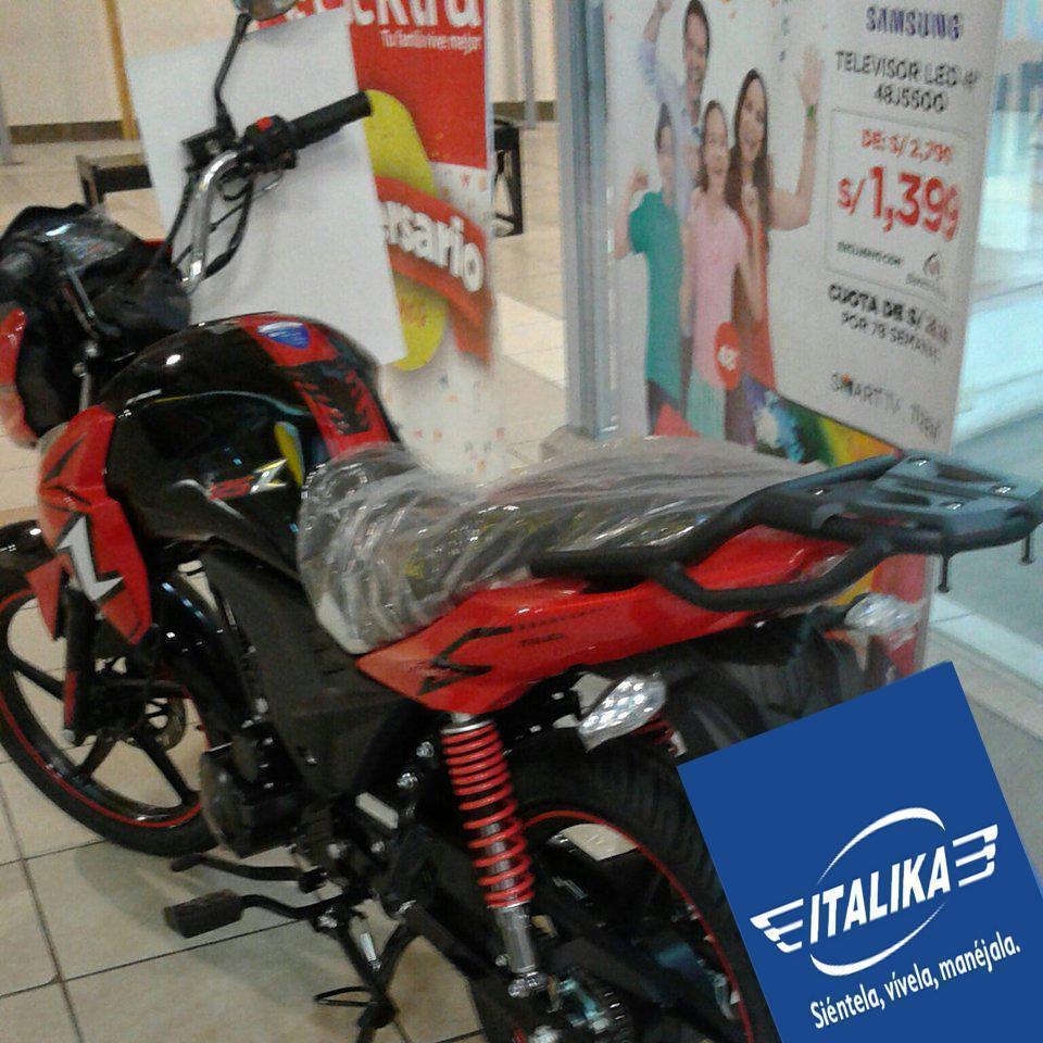 MOTO ITALIKA Z125