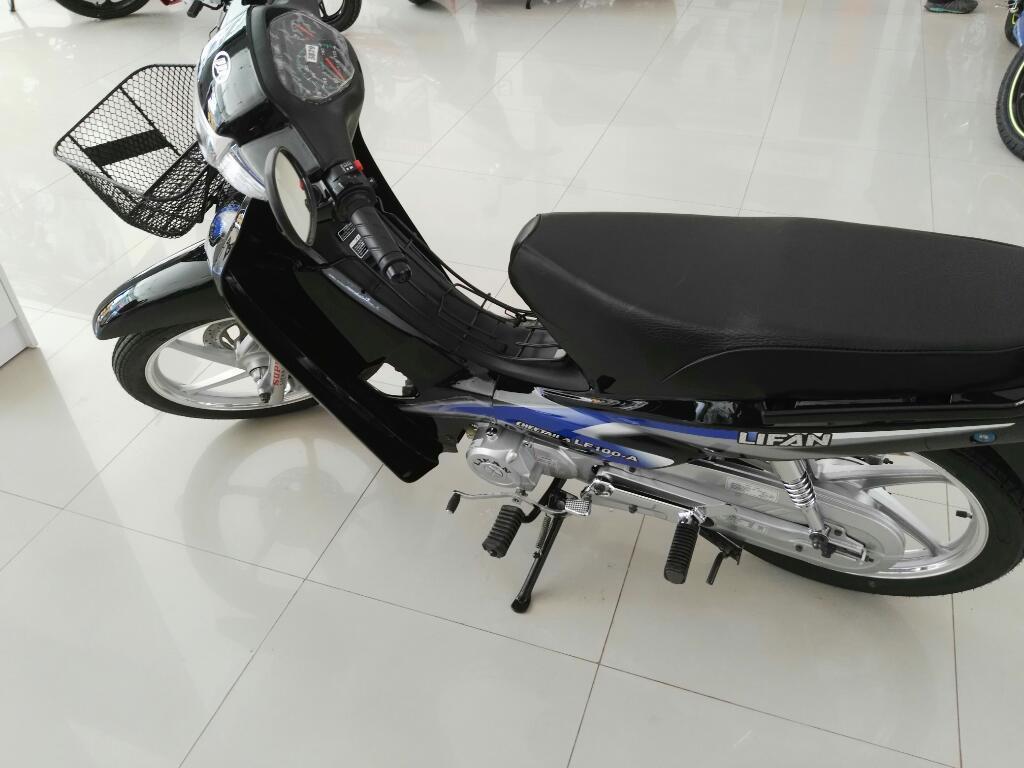Vendo Moto Lifan Seminueva Año 2016