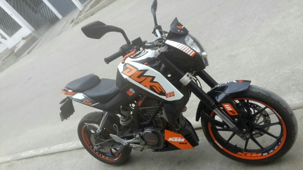 Remato KTM DUKE200 del 2013
