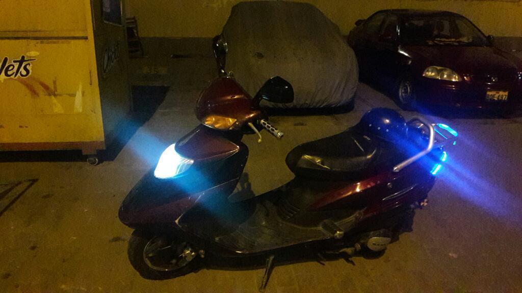 Remato Moto Scooter 150 Motor Ok Soat hasta Marzo Mas Casquito