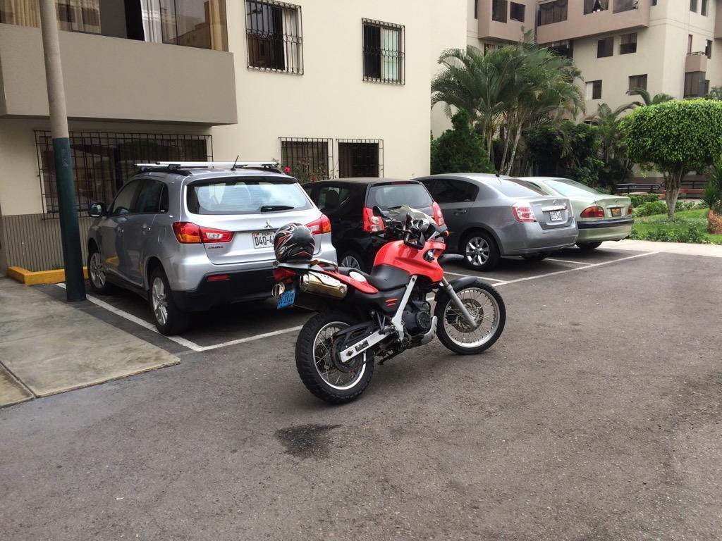 Moto Bmw 650 Gs