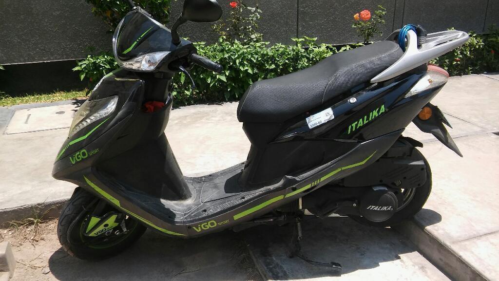 Vendo Scooter Italika Vigo Semi Nuevo
