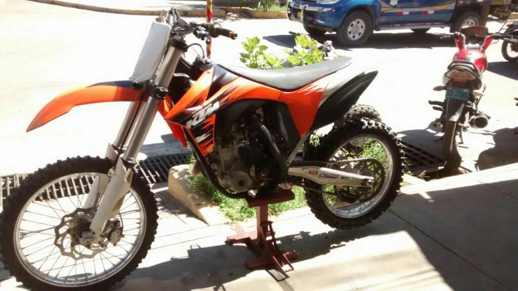 Vendo Moto Ktm 250