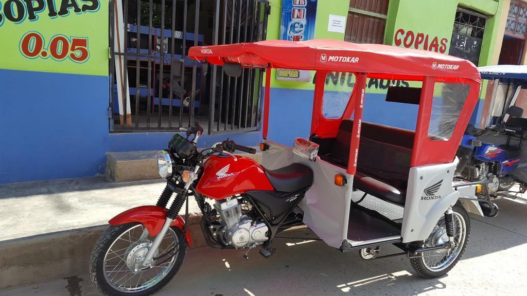 VENDO MOTOKAR HONDA GL 150