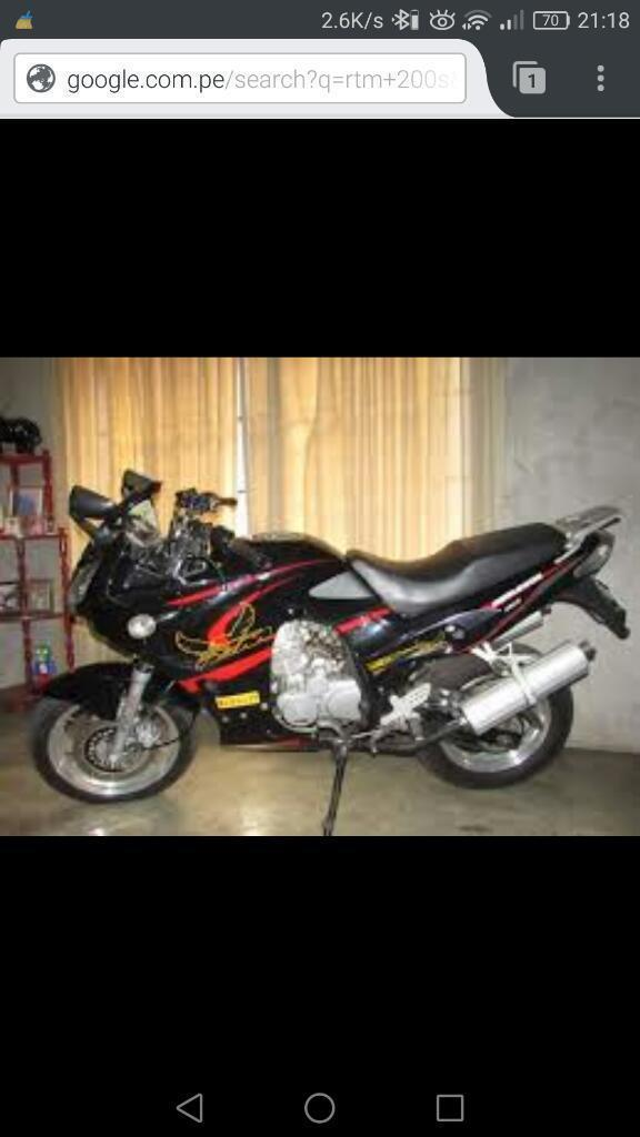 Moto Lineal Rtm 200s