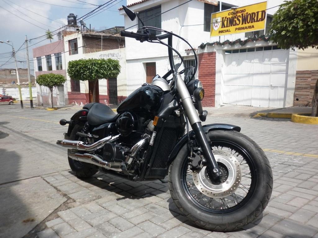 VENDO HONDA SHADOW 750cc PERSONALIZADA