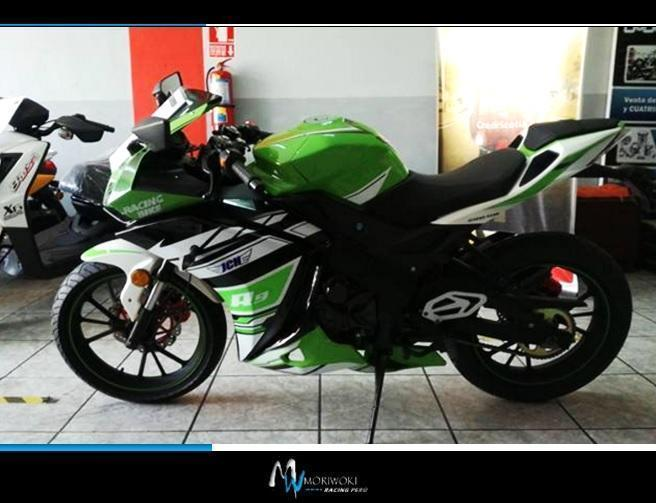 Motocicleta deportiva JCH RZ8B pistera