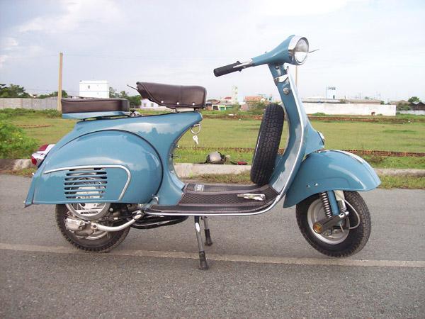 Vendo Moto Vespa Piaggio VBB 1 de los años 60