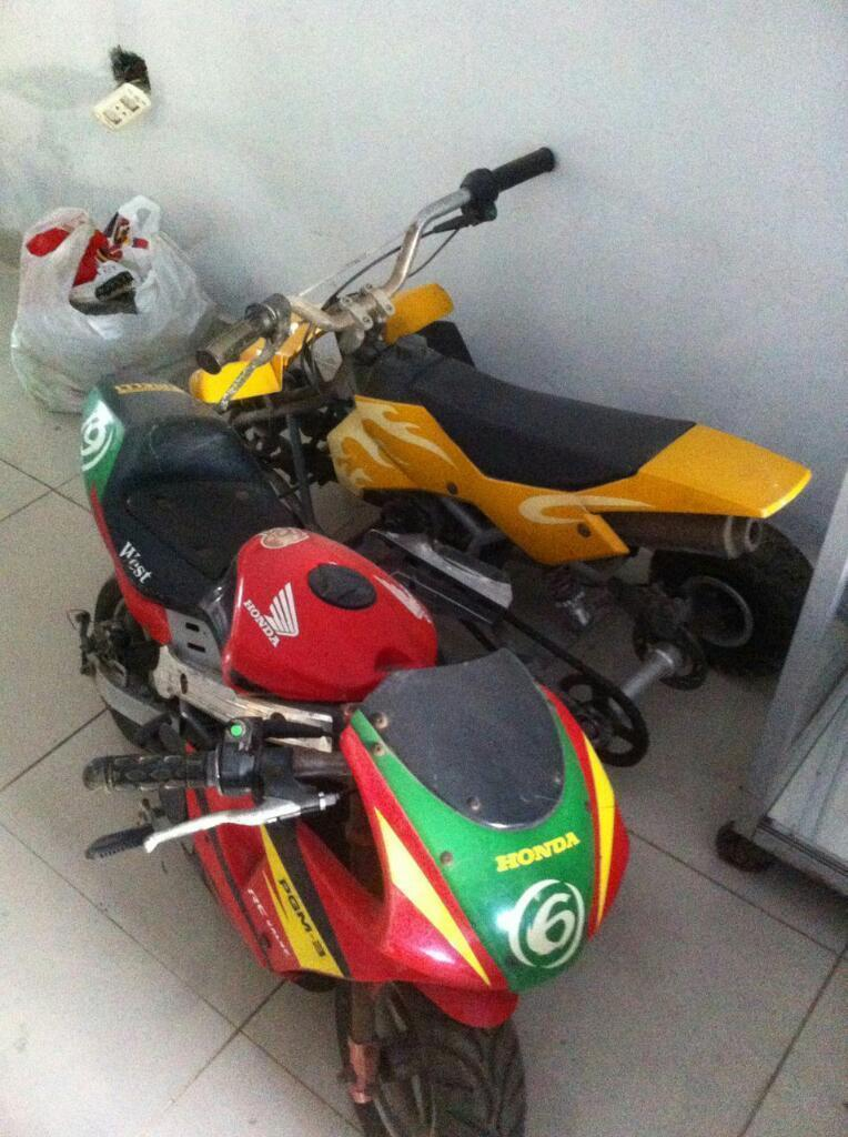 Vendo Moto Pirelli Y Cuatrimoto Japonesa