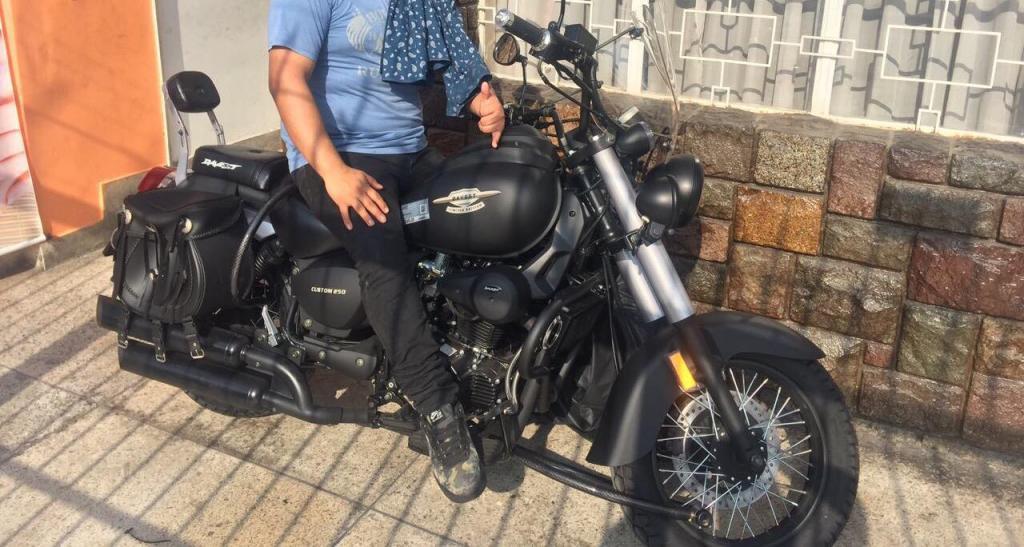 Moto Chopera Davest Custom 250